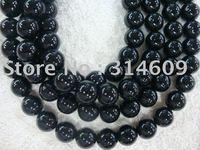 Hot Sale Black Onyx Loose Bead Fashion Jewelry Round 12mm