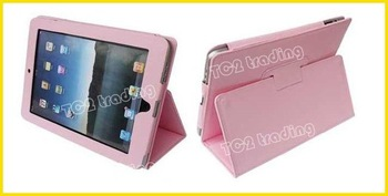 for ipad2 leather case Trendy laptop case for Ipad2, free shipping, whole sale and retail
