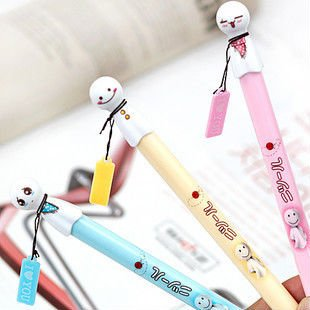 Free Shipping!! Lovely Sunny Doll Gel Ink Pen Fountain Pens/Promotional Gift/Wholesale Refill 0.38mm DB-8238