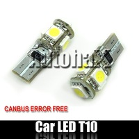 CANBUS T10 LED Bulb 5 5050SMD DHL Free Shipping!