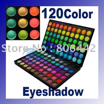 Free Shipping 120 Full Color Eyeshadow Palette
