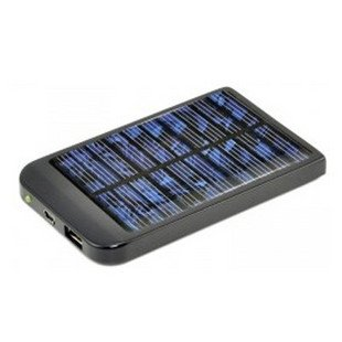 Free shipping Real 2600mAh Solar Power Charger + light For Mobile Phone Camera PDA MP3 MP4 iphone 3g 4g(China (Mainland))