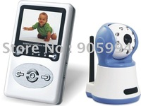 2.4&amp;quot;LCD 100M distance Baby monitor,security wireless monitor ,support zoom,interphone function