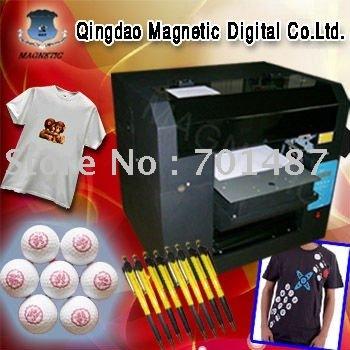 CE black t-shirt printer