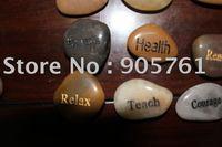 engraved stones word stones