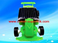 FREE SHIPPING DIY Mini Educational Worlds smallest solar-powered racer Car/GREEN / REB /BLACK FOR YOUR CHOICE