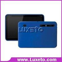 Silicone case for Motorola Xoom 50pcs/lot DHL 60% discount