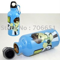 Wholesale+free shipping 30pcs/lot  Metal Bottle Kettle cartoon water bottle Gift Mix Order Free Drop Shipping 050402