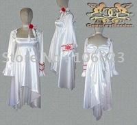 Wholesale Freeshipping Hot Selling low price Cheap Cosplay Costume C1205 Vampire Knight Yuki Dress