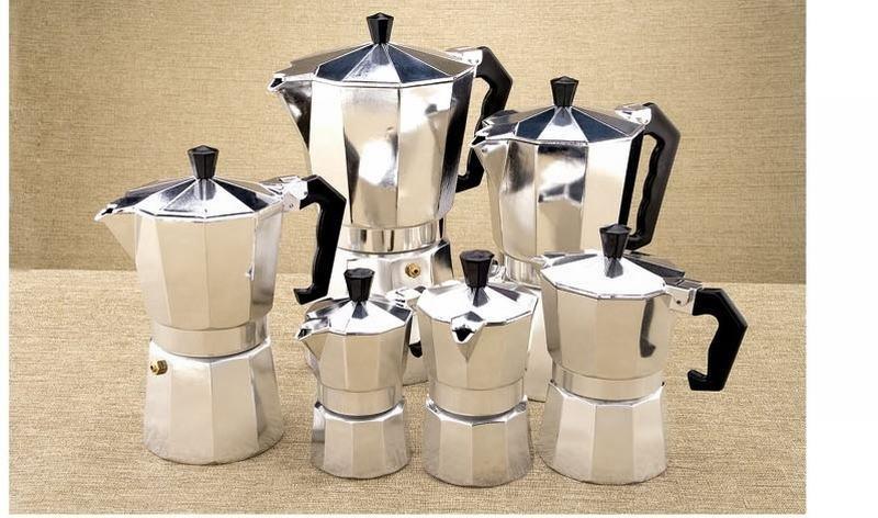 Bialetti,Inoxpran's supplier!!3cup Italian Stove top/Moka espresso coffee maker/percolator pot tool(China (Mainland))