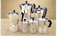 Bialetti,Inoxpran's supplier!!3cup Italian Stove top/Moka espresso coffee maker/percolator pot tool