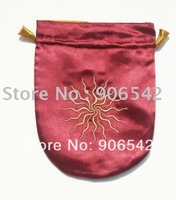 Red Sunstar Satin Bag