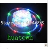 Free shipping 10pcs Solar Tube Lights / solar string ,solar neon / color underwater light 100LED / Christmas Lights / RGB