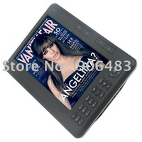 best selling reader Free Leather case+screen protector 7inch e-book,free ship mail post(not EMS dhl)