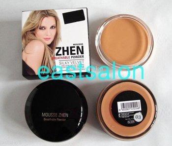 Wholesale Free Shipping Mousse Zhen Breathable Powder Concealer ( 40 pcs/lot) 3 colors