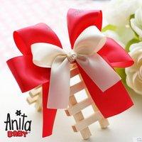 Girls' Hair Accessories Baby hair bows hairs clip infant grosgrain ribbon bows A017