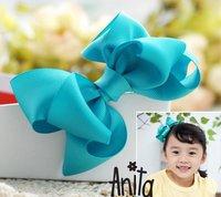 Girls' Hair Accessories Baby hair bows hairs clip infant grosgrain ribbon bows A040