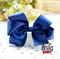 Girls' Hair Accessories Baby hair bows hairs clip infant grosgrain ribbon bows A043