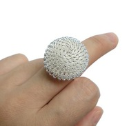 New Fashion Flower finger ring,Lady fashion jewelry,Mixed colors,25pcs/lot,Freeshipping