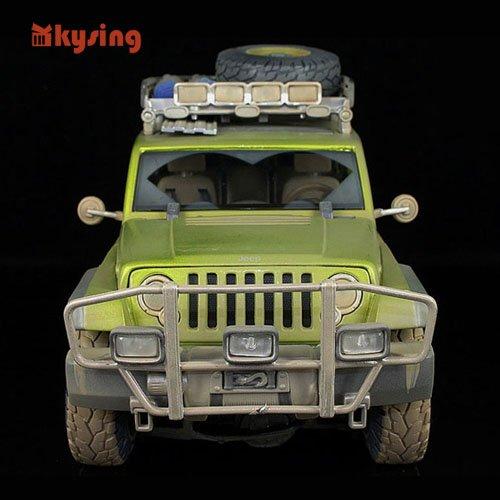 1:18 / Wrangler Commander / Distressed scene Edition / Hummer car models Free Shipping(China (Mainland))