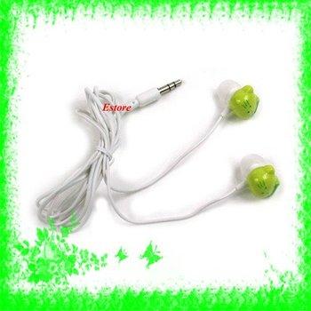 Free Shipping+100pcs/lot  Hello Kitty Fashion Earphone Headphone Headset for mp3 mp4 Ipod