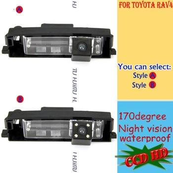 CCD auto Car Rear View camera reverse backup Camera in car camera   for Toyota RAV4 Chery 09 Tiggo3/WeiLin X5/chery A3 Sedan
