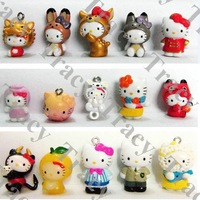100 pcs New Arrival Hello Kitty phone chain/Mobile chain/Mobile Phone Charm Kitty style mix order freeshipping