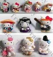 500 pcs New Arrival Hello Kitty phone chain/Mobile chain/Mobile Phone Charm Kitty style mix order freeshipping