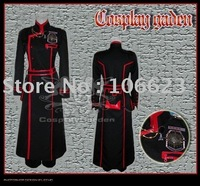 Wholesale Freeshipping Hot Selling low price Cheap Cosplay Costume C1319 D.Gray Man Kanda III Uniform