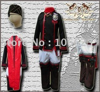Wholesale Freeshipping Hot Selling low price Cheap Cosplay Costume C1321 D.Gray Man Lavi III Uniform