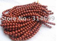 "Free Shipping Red Jasper Bracelets Bead Round 6mm 16"""
