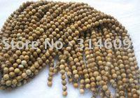 "Free Shipping Picture Jasper Bracelets Bead Round 4mm 16"""