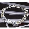 Men&#39;s jewelry / 925 silver fashion bracelet about 8inch, free shipping,factory price, 925 silver bracelet jewelry MB2