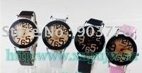 150pcs/lot free Shipping new arrival women's big face watch, fashional quartz , high quality ladies watch