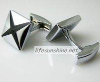 FreeShipping-Factory Offer wholesale Brand new 2010 Cuff links Sliver X Men Cufflinks