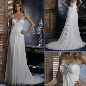 HS9940 cheap Free Shipping100% Guaranteed Floor-length A-line Mermaid bridal dress