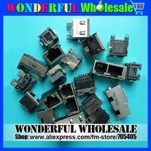 20 Models:20pcs/pack,RJ45/RJ45+RJ11 Notebook (dual) network interface cards