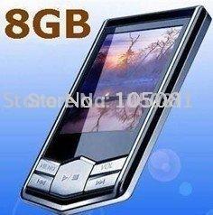 "Cheap  8GB MP3 MP4 Player Slim 1.8""LCD FM Radio FM Radio mp4 player +Free Gift"