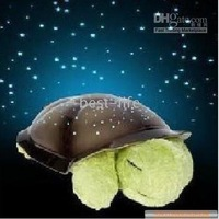 Night Light lamp 1pcs [The world&amp;#39;s best-selling Cloud B] Magic stars sleep little turtle Star