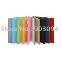 free shipping promotion Magnetic for apple ipad Smart cover and for ipad 2 leather cover