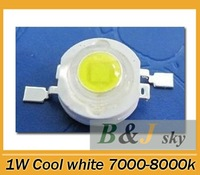 Guarantee quality,1W cool white LED chip,high power,7000k-8000k,90-100lm,lighting for Jewelry