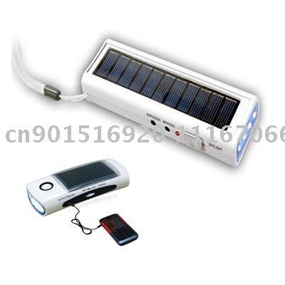 100% guaranteed quality free shipping(100pcs) solar radio with torch wholesale/retail(China (Mainland))