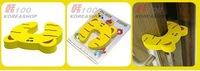 free shipping wholesale--Cartoon child safety gate card/EVA door stopper/baby safety products 200pcs/lot