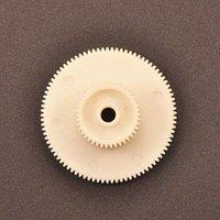 Double Gear Module 0.4 Aperture 4mm teeth 57/119