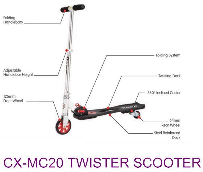 torção cx-mc20 scooter, chicotes lado para o outro, skate da onda, deriva rolo, roda mágica, brinquedos dos miúdos(China (Mainland))
