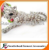 free shipping Rhinestone Animal brooches(China (Mainland))