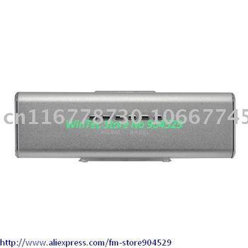 Music Angel Sound Box Mini Speaker USB/SD/FM - Silver1pc( Free shipping)
