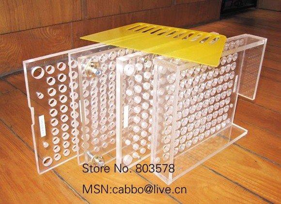 capsule filling machine, 400 cavity manual capsule filling,capsule machine,six parts(China (Mainland))