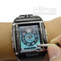 bluetooth waterproof watch cell phone - Quadband W08 --1.3inch touch secreen+camera(China (Mainland))