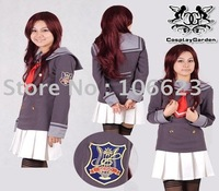 Wholesale Freeshipping Hot Selling low price Cheap Cosplay Costume C1402 Corda Primo Passo Girl Uniform